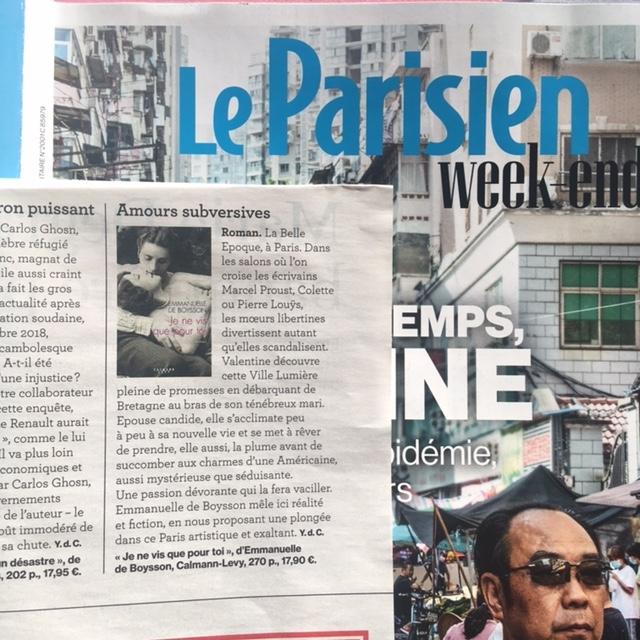 parisien 19 nov