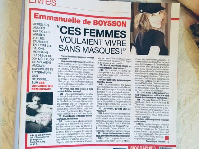 France Dimanche itw d'Yves Quitté photo @marcantoinecoulon